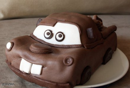 Tort Złomek / Auto