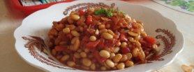 Soja w sosie pomidorowym