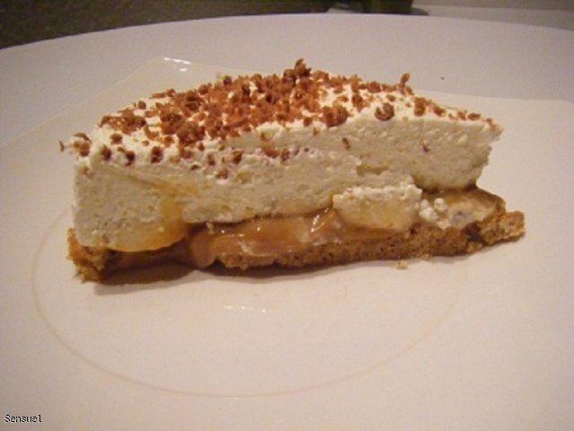 Banoffee - ciasto bananowe z toffee