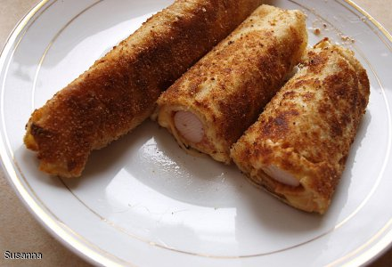 Naleśnik a'la hot dog