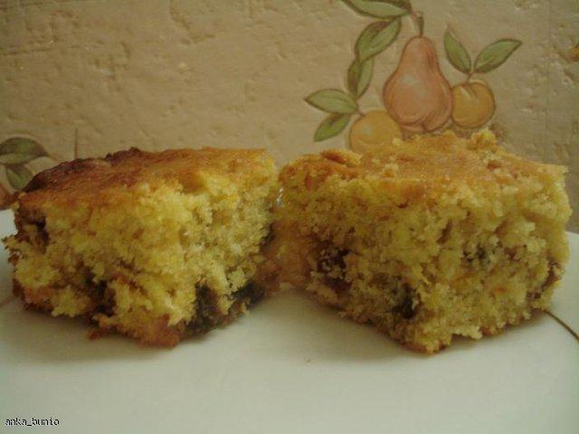 Ciasto dyniowe z bakaliami