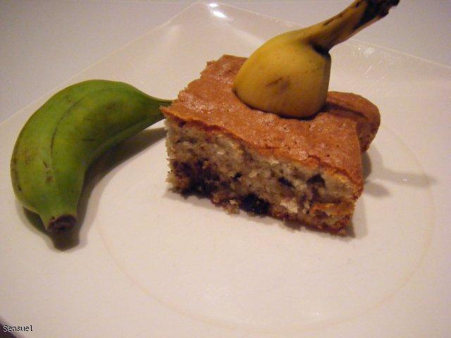 Ciasto bananowe z czekoladą - szybkie i łatwe
