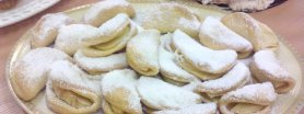 Półfrancuskie ciasteczka z jabłkami
