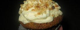 Muffinki marchewkowe z kremem