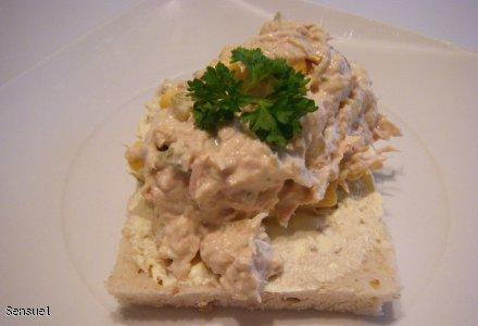 Pasta tuńczykowa wg.Sensuel