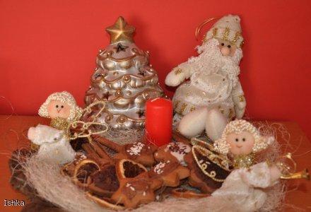 Świąteczne cynamonowe ciasteczka