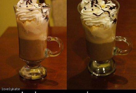 Lody zatopione w kawie