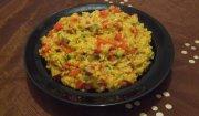 Swojskie risotto z suszonymi pomidorami