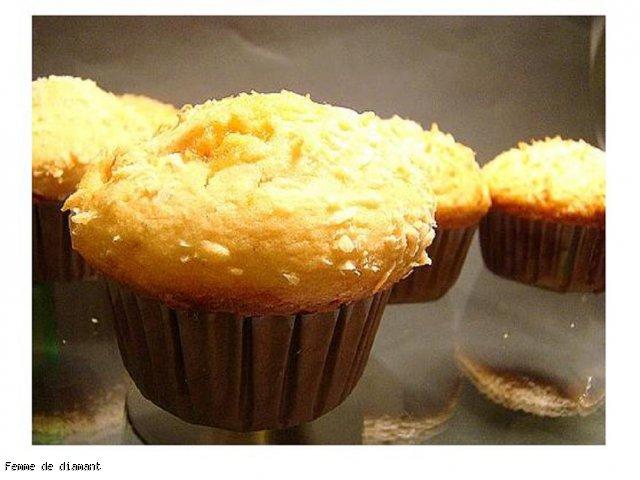 Muffinki z krówkami i kokosem