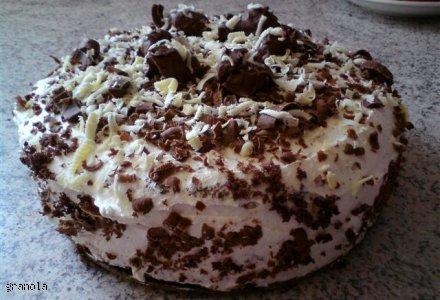 tort czekoladowo smietanowy