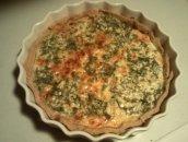 Tarta z ryby wędzonej ( np. makreli )