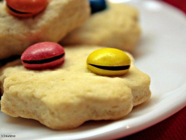 Kruche ciasteczka z M&Ms