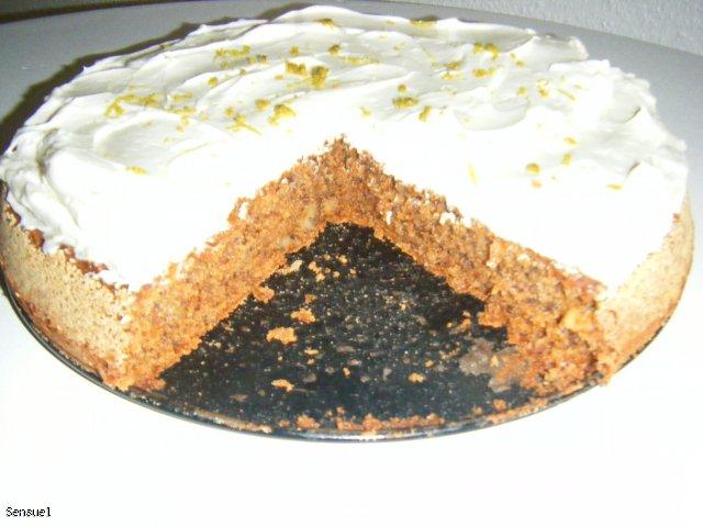Marchewkowe ciasto z kremem serowym - Gulerodskage
