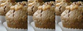 Orzechowe muffinki