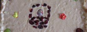 Mazurek ewkowy-kajmakowy