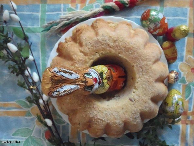 Świąteczna babka toffi