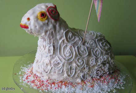 Baranek Wielkanocny (handmade)