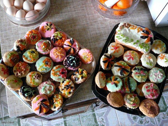 Wielkanocne babeczki z białek