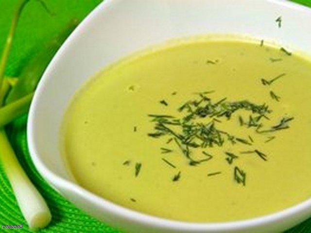 Zupa z groszku -krem