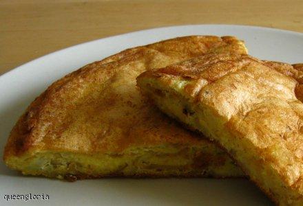 Tortilla hiszpańska z ziemniakami