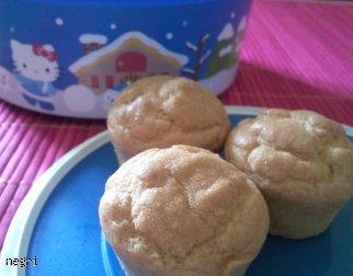 Muffinki dyniowo-migdałowe