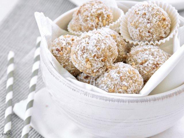 Kokosowe Laddu- słodki indyjski deser