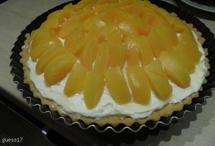 Tarta owocowa z serkiem mascarpone