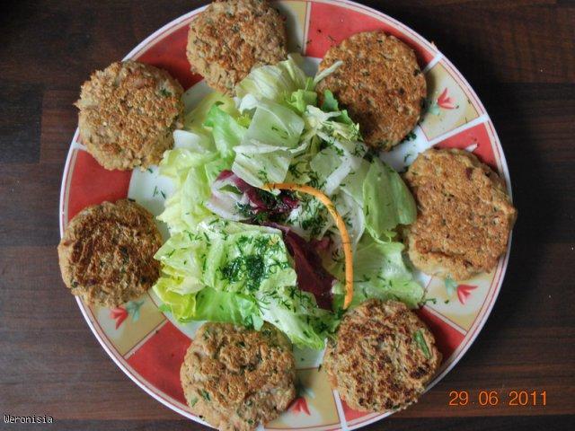Kotleciki z tuńczyka (dietetyczne)