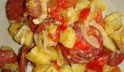 Sałatka ziemniaczana z chorizo