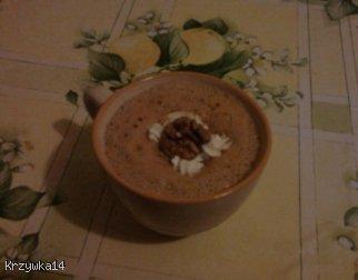 Kawa z pianką