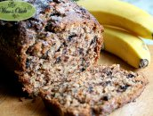 Chlebek bananowy z groszkami czekoladowymi (Chocolate Chip Banana Bread)