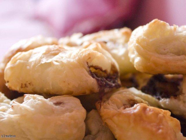 Ciasteczka francuskie z nutellą