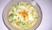 Zupa brokułowa z ryżem
