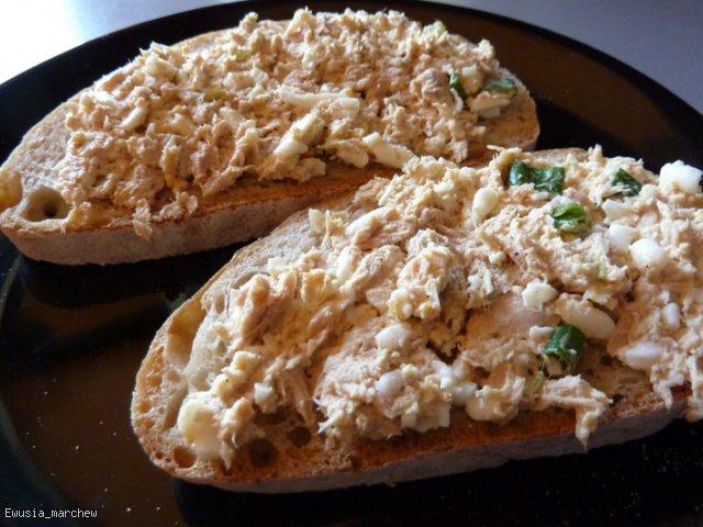 Pasta z tuńczykiem do kanapek