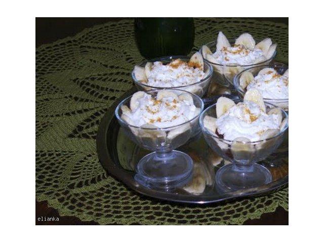 Karmelowo- bananowa delicja (inspirowane Pascalem)