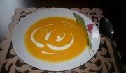 Marchewkowa zupa krem z mięsną wkładką