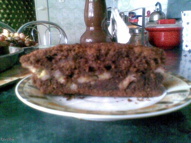 Kakaowe ciasto z bananami