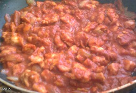 Zapiekanka z makaronem i kurczakiem