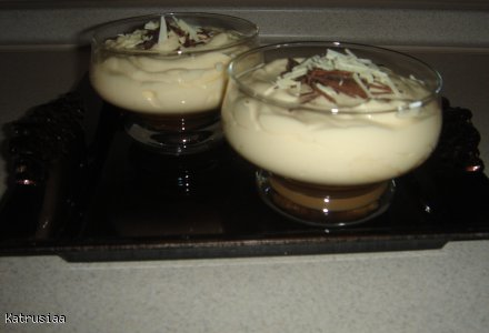 Mini tiramisu w pucharkach