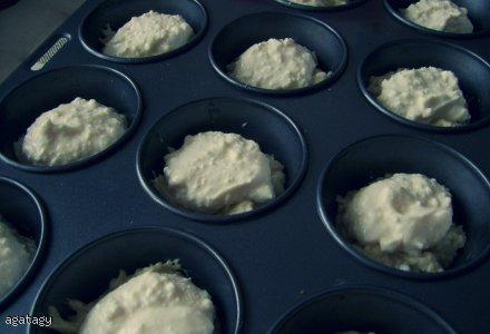 Dietetyczne serowe muffiny