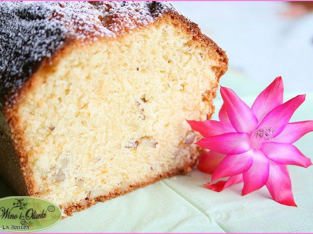 Ciasto pomarańczowo-migdałowe