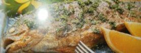 Karp faszerowany kaszą gryczaną i grzybami
