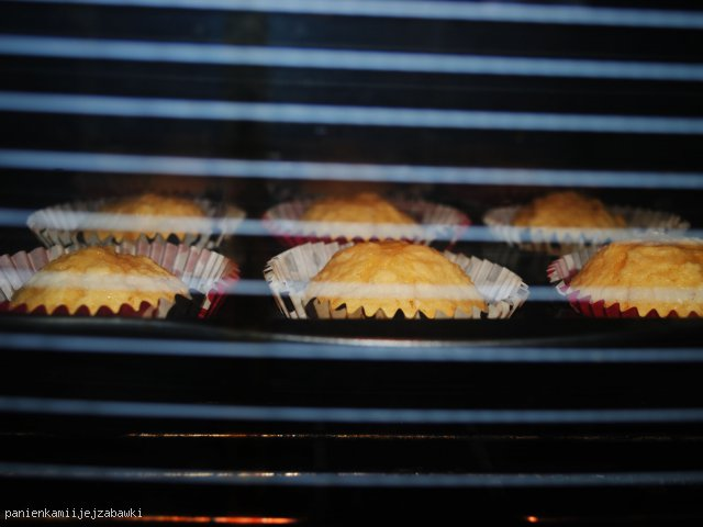 Ośnieżone muffinki