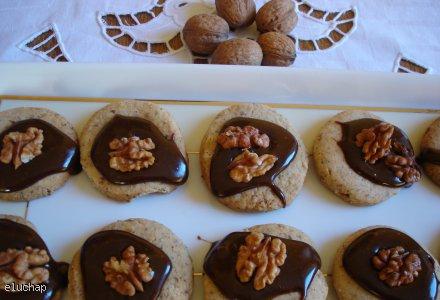 Orzechowe ciasteczka