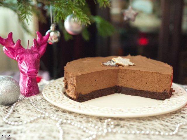 Korzenne ciasto czekoladowe