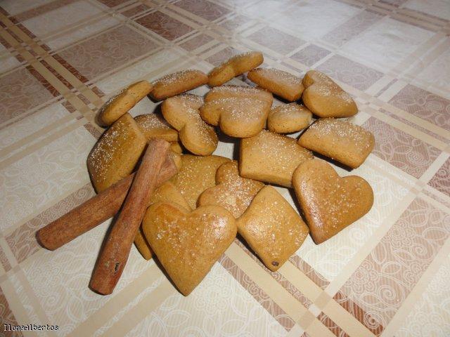 Miodowe ciastka