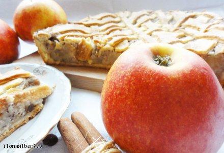 Cynamonowo- jabłkowa szarlotka