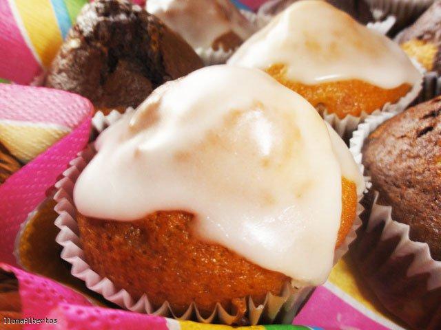 Muffinki z pomarańczą