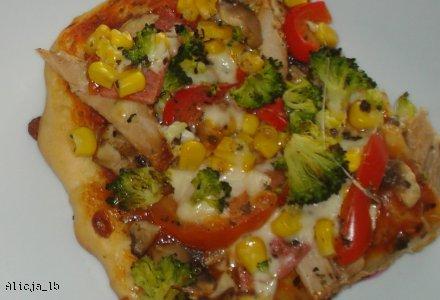 Pizza z przepisu na