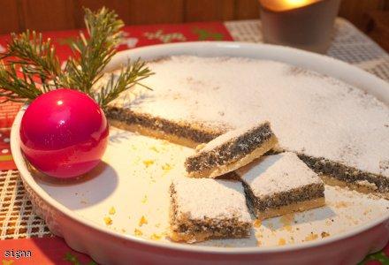 Świąteczna tarta makowa